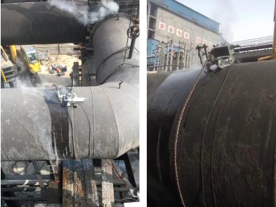 山西技改煤气管线切割案例