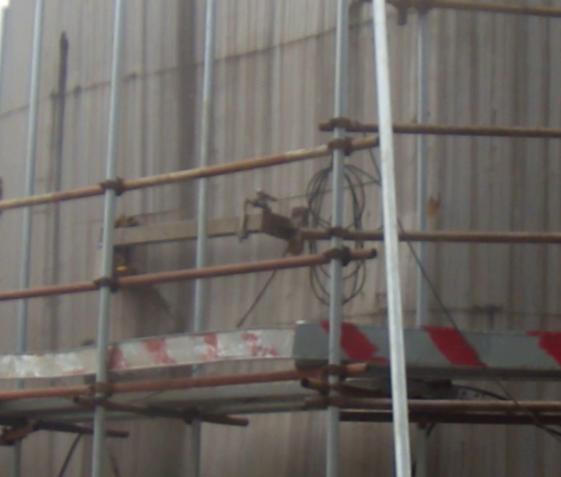 北京燕山石化化学品罐切割案例